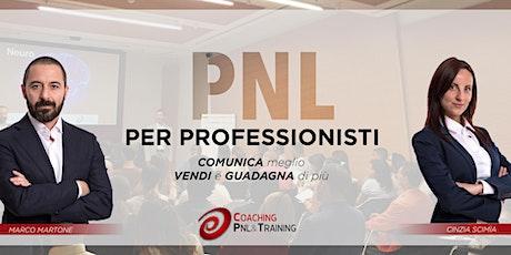 PNL per Professionisti biglietti
