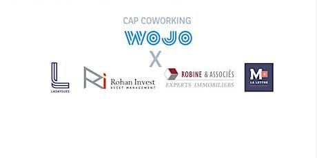 Cap Coworking - RI RA LA X WOJO billets