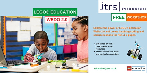 Exploring the Primary Computing and Science Curriculum with LEGO® Education WeDo 2.0 - Peterborough