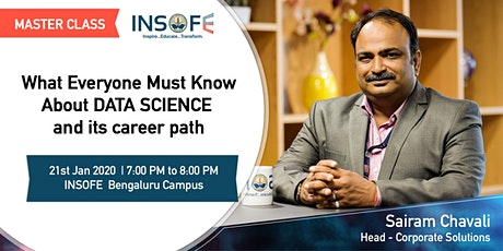 What Everyone Must Know About DATA SCIENCE and its Career Path. tickets