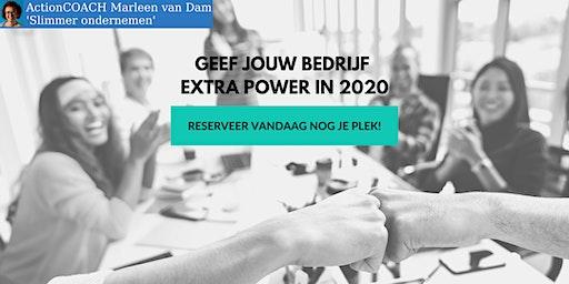 Geef jouw bedrijf extra power  in 2020