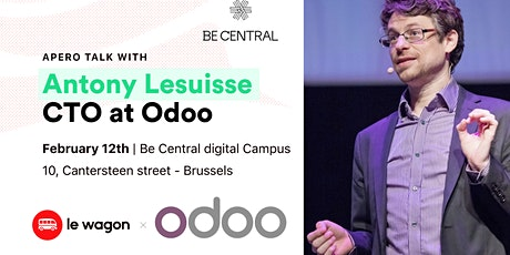 Apero Talk with Antony Lesuisse, CTO at Odoo tickets