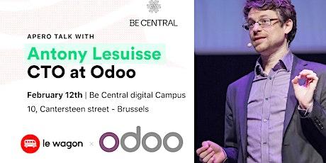 Apero Talk with Antony Lesuisse, CTO at Odoo tickets