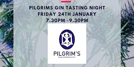 Copy of FREE gin tasting Pilgrims tickets