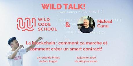 WILD TALK : la BLOCKCHAIN vue par Mickael Canu ! billets