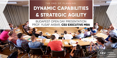 CEU Executive MBA Budapest Open Day tickets