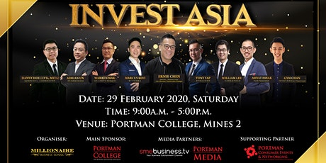 INVEST ASIA 2020 tickets