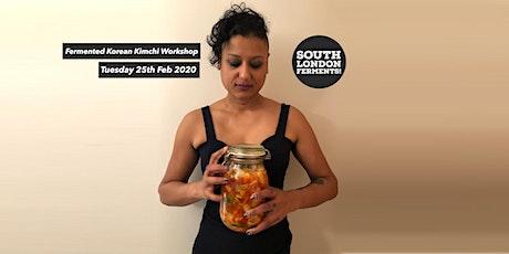 Kimchi Fermentation Workshop in East Dulwich tickets