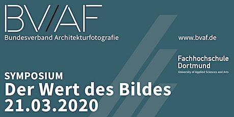 """Symposium """"Der Wert des Bildes"""" Tickets"""