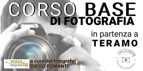 CORSO BASE DI FOTOGRAFIA biglietti