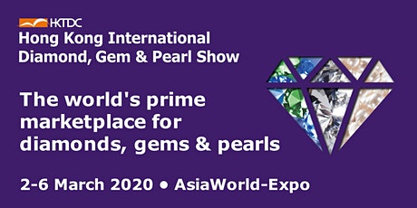 Hong Kong International Diamond, Gem & Pearl Show tickets