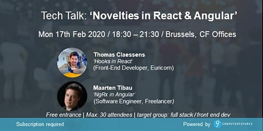 Novelties in React & Angular