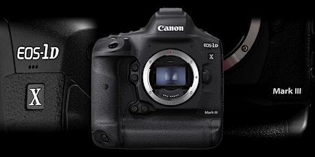 CPS - Presentazione di Canon EOS-1D X Mark III, con Alberto Czajkowski biglietti