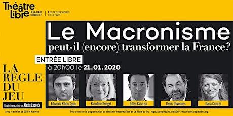 Lemacronisme peut-il (encore) changer la France ? billets