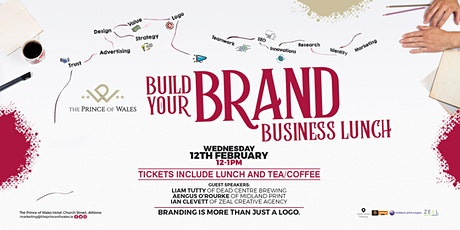 Build Your Brand Business Lunch tickets
