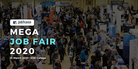 Mega Job Fair 2020 tickets