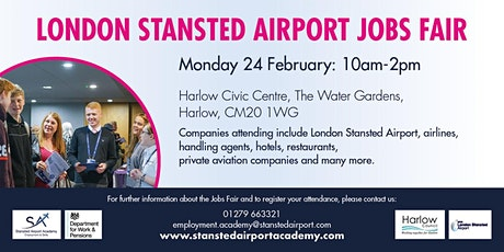 London Stansted Airport Jobs Fair tickets