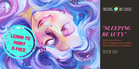 SLEEPING BEAUTY - coffee and paint workshop tickets