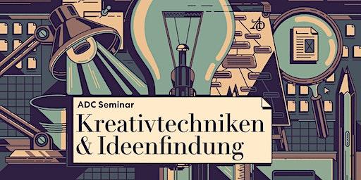 """ADC Schnupperseminar """"Kreativtechniken & Ideenfindung"""""""