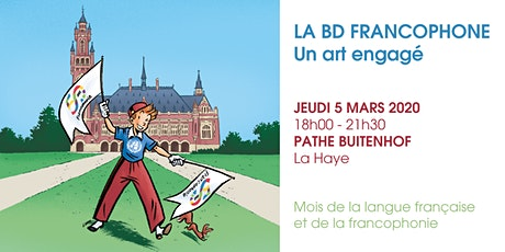 La BD Francophone : un art engagé tickets