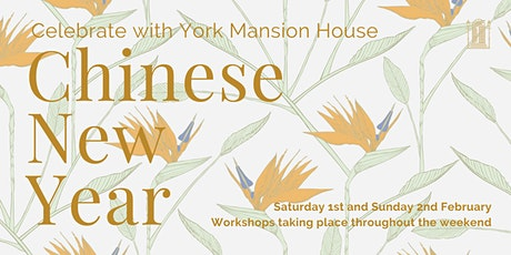 Chinese New Year 2020 at York Mansion House tickets