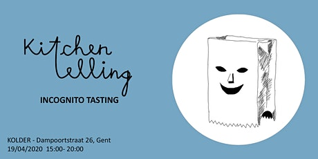 Kitchentelling: Incognito Tasting tickets