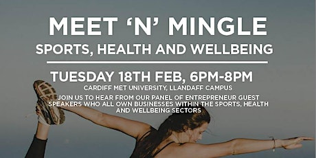 Meet & Mingle - Sport, Fitness & Wellbeing tickets