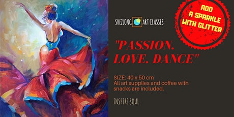 PASSION. LOVE. DANCE - coffee and paint workshop tickets