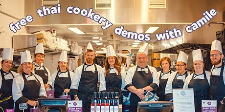 Free Cookery Demo at Camile Thai Phibsborough (With Lunch!) tickets