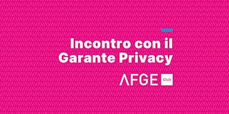Intervista al Garante Privacy: quali sfide per la privacy nel 2020? biglietti