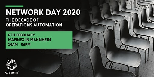 OSAPIENS NETWORK DAY 2020