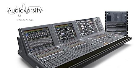 Curso sobre el sistema de mezcla digital Yamaha RIVAGE PM tickets