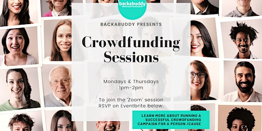 Online Crowdfunding Workshop: Raising Funds for a person/cause