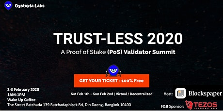 Trust-Less 2020 Bangkok Viewing Party tickets