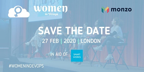 Women in DevOps - Save the date tickets