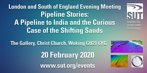 London & South of England Evening Meeting – Pipeline Stories