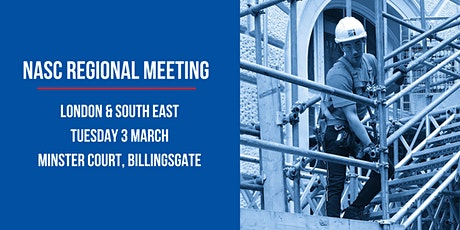 NASC London & South East Regional Meeting tickets