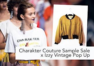 Charakter Couture Sample Sale x Izzy Vintage Pop Up Tickets