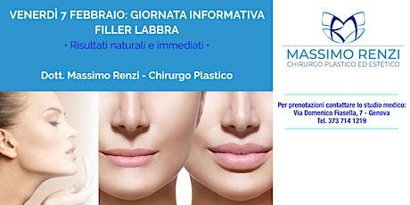 Giornata Informativa : Filler Labbra biglietti