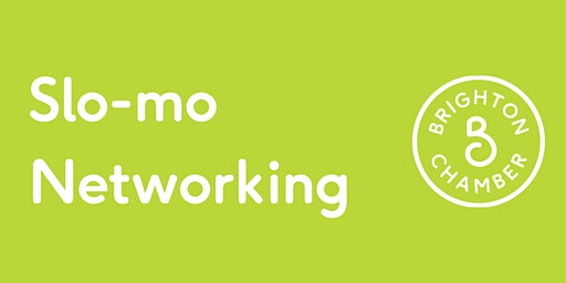 Slo-mo Networking - March