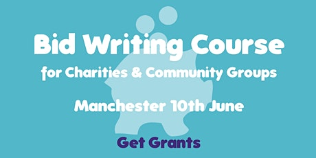 Bid Writing for Charities & Community Groups Course tickets