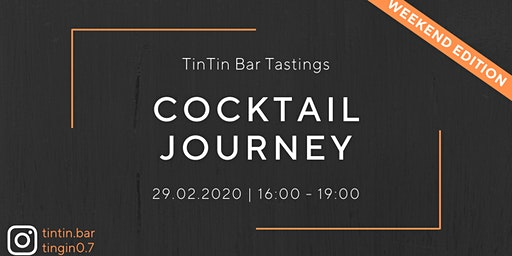 TinTin Cocktail Journey Tasting