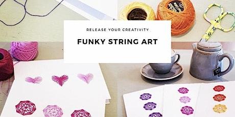 Kiddies Craft  Classes  - String Art tickets