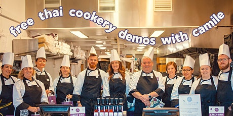 Free Cookery Demo at Camile Thai Pearse Street (With Lunch!) tickets