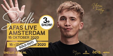 Snelle in AFAS Live - SHOW 3 tickets
