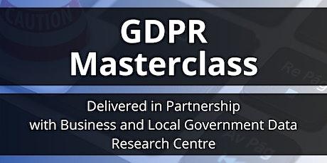 GDPR Masterclass tickets