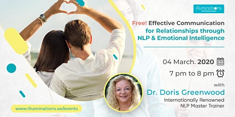 Free! Effective Communication For Relationships Through NLP tickets