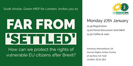 Far from 'settled': How can we protect the rights of vulnerable EU citizens tickets