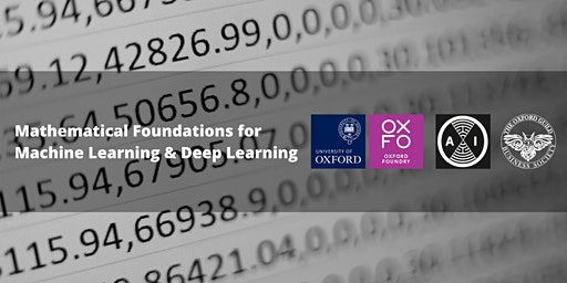 Mathematical Foundations for Machine Learning & Deep Learning