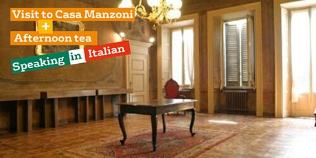 Visit to Casa Manzoni & Afternoon tea (event in Italian) tickets